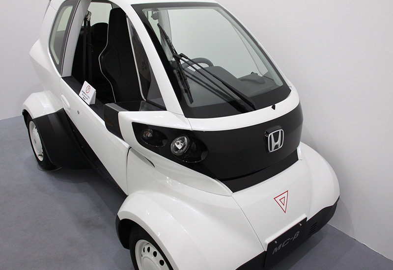 Honda Motor Exhibits 3D Printed Micro Commuter Vehicle